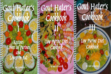 Gout Hater's Cookbooks I, II and III